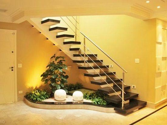 15 Indoor Garden Under Stair Ideas For Inspiration Stairs Design Interior Garden Small Garden Under Stairs