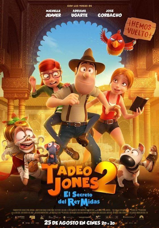 Tadeo Jones 2 El Secreto Del Rey Midas Ver Descargar Hd 1080p Castellano Rapidvideo Peliculas Online Estrenos Peliculas Infantiles Disney Peliculas De Animacion