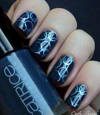 Circle nail patterns (use a straw): Nail Pattern, Straw Nail, Art Designs, Nail Design, Circle Pattern, Circle Nail, Nail Art
