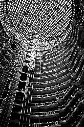 Interior of the Thompson Center
