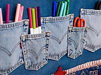 Riciclo creativo: come riutilizzare i vecchi jeans   Foto