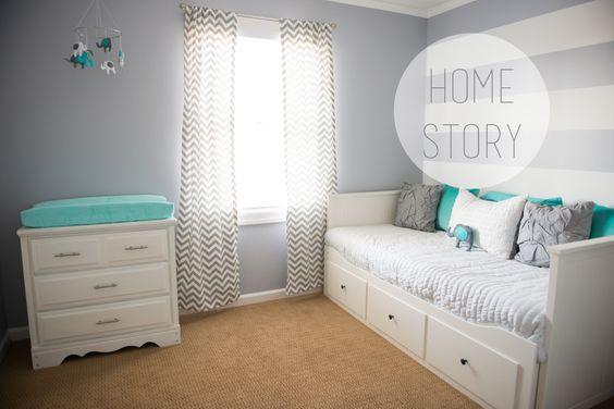 grau k sst t rkis kinderzimmer kinderzimmer. Black Bedroom Furniture Sets. Home Design Ideas