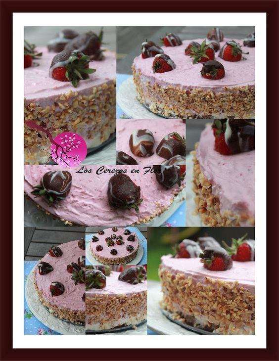 Los cerezos en flor: Tarta de Fresas con Mascarpone //Strawberry mascarpone cake