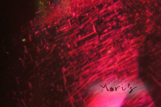Mori's  ruby silk inclusion