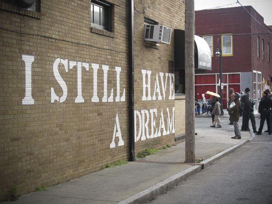 Les Tags, les graffitis - John Fekner