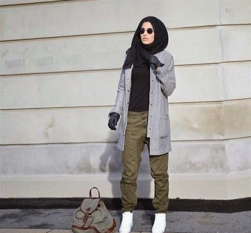Models Casual And Hijabs On Pinterest