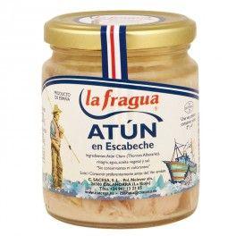 Atún Claro Artesano en Escabeche. Sin conservantes ni colorantes, Caja de 24 Udes.  Caja de 24 Udes. (Precio por unidad = 2,566 €, IVA incluido). - Origen: Cantábrico, Peso bruto: 325 gr., Peso neto: 220 gr., Peso escurrido: 150 gr., Envase: Tarro 250 - See more at: http://www.chefmayorista.eu/index.php?id_product=382&controller=product&id_lang=1#sthash.scaX42TH.dpuf
