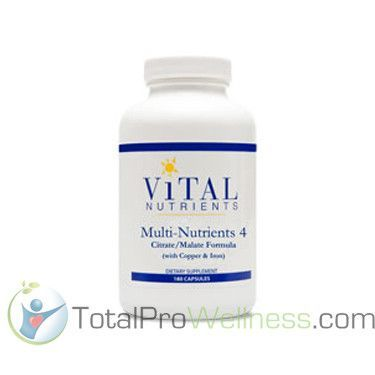Multi-Nutrients 4 180 Capsules