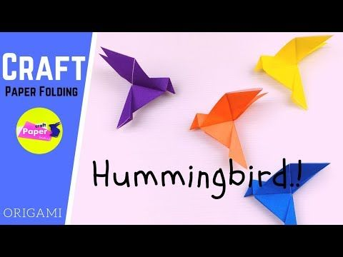Origami Hummingbird Necklace | 360x480
