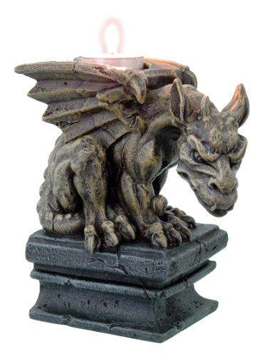 Medieval Gothic Gargoyle Candle Holder