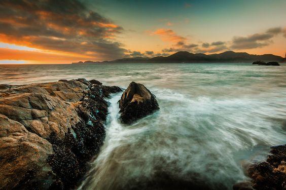 Sunset at Baker Beach by silversldr at ViewBug