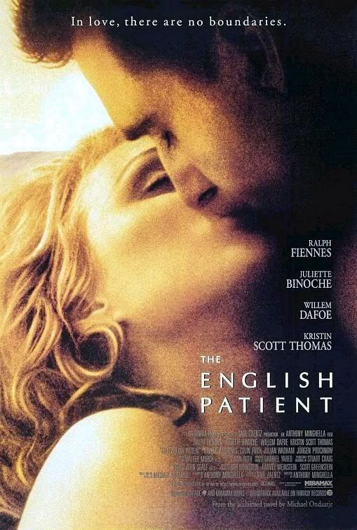 The English Patient. Gets me everytime. After I first watched this, it was days before I could get it out of my mind.