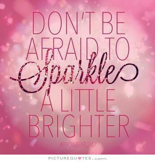 Sparkle on✨✨✨