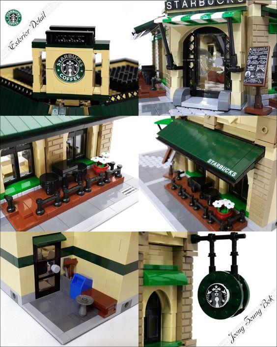 LEGO Ideas - LEGO Starbucks Cafe Modular