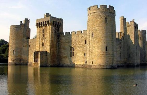 Château Bodiam East Sussex Angleterre.