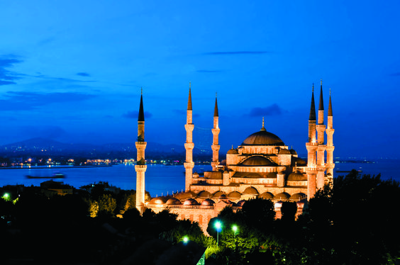 Nothing is quite as stunning as the Blue Mosque in Istanbul, Turkey, at night. Soak up this sight on our Wonders of Turkey and the Greek Isles tour.