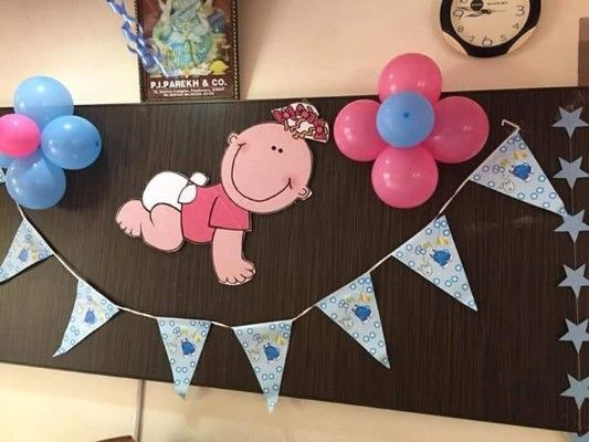Baby Welcome Decoration Baby Shower Balloon Decorations Baby Door Decorations Diy Baby Shower Decorations