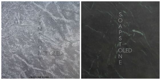 Indian Symphony soapstone oiled vs raw. Very hard variety. Also comes in larger sizes.