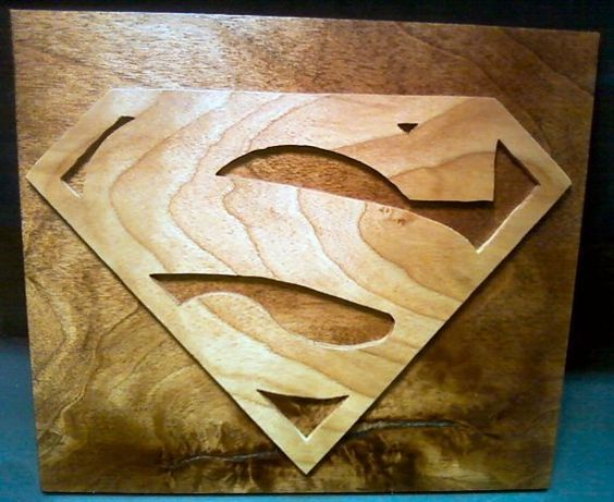 Superman Wood Projects Wooden Projects Scroll Saw