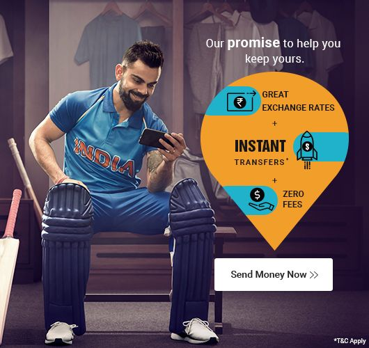 Online Money Transfer To India