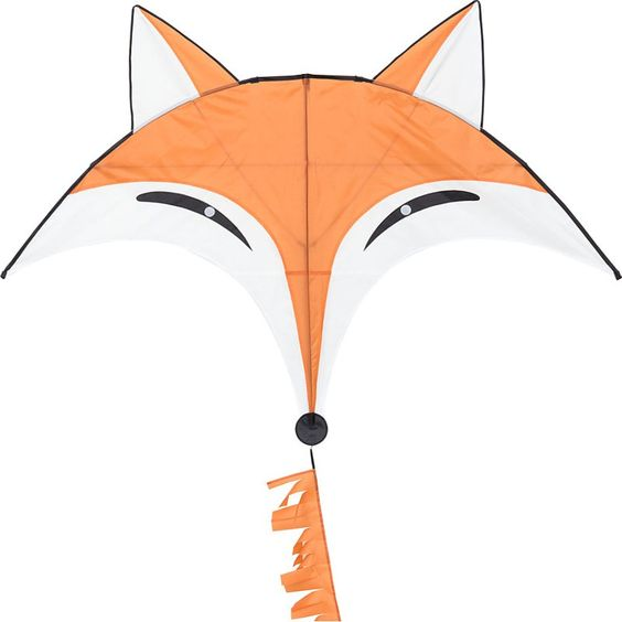Cerf-volant monofil HQ Flying Creatures Fox Kite renard