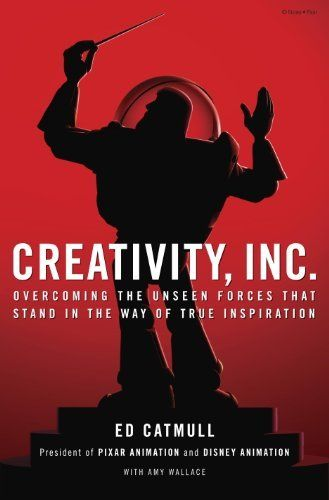 Creativity, Inc.: Overcoming the Unseen Forces That Stand in the Way of True Inspiration by Ed Catmull, http://www.amazon.com/dp/B00FUZQYBO/ref=cm_sw_r_pi_dp_eqx6sb181K7RS