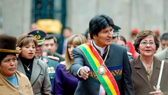 Original Peoples of Bolivia Celebrate Decolonization Day. Bolivian President Evo Morales, says the day will be