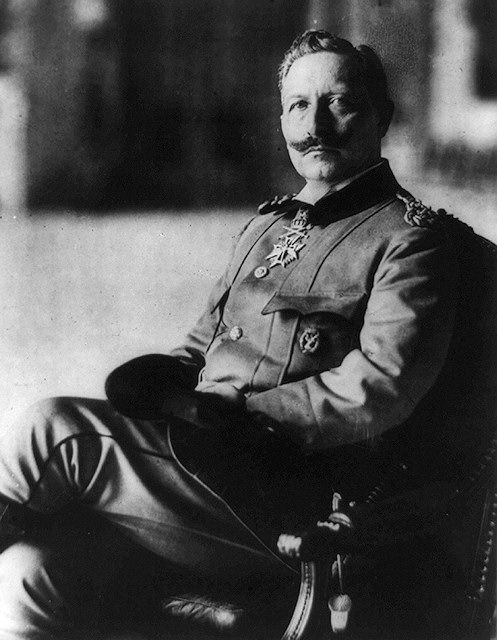 Germany. Kaiser Wilhelm II, ruler of Imperial Germany beginning in 1888. Oldest grandson of England's Queen Victoria, the Kaiser was a cousin to both King George V of England and Czar Nicholas II of Russia. As Germany's leader, Kaiser Wilhelm was obsessed with maintaining his popularity, and was therefore somewhat erratic in his decision making--torn between the advice of his ministers, his desire to be popular, and his fear of appearing weak-willed.
