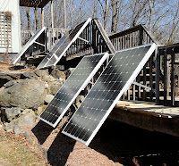 DIY Solar Power on a Deck