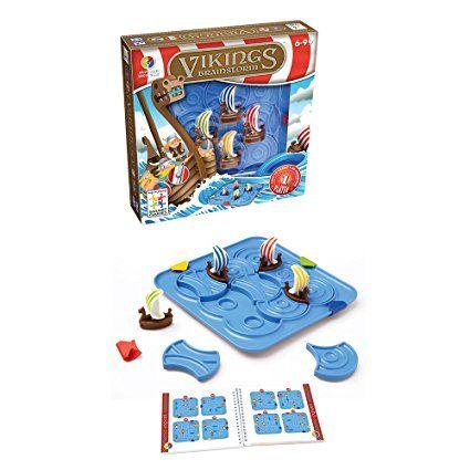 Smartgames - SG 530 FR - Jeu de logique avec Cadre - Vikings - Version Francaise: Amazon.fr: Jeux et Jouets