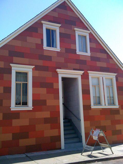 unique house siding