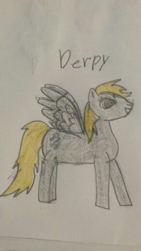 Krista love drawing of derpy I love it!