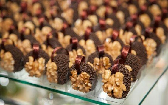 Chocolate com nozes