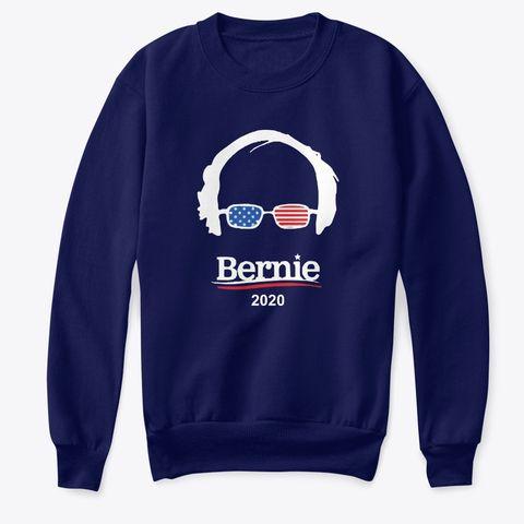 Bernie 2020 T Shirt Navy T Shirt Front Bernie Sanders Tshirt Bernie 2020 Shirts