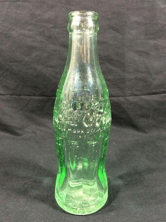 #cocacola #sodabottle #vintage #cjbeez Antique Coca-Cola Soda Bottle Bethlehem Pennsylvania Patent D-105529