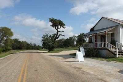 The Welfare Cafe, worth a drive. Hill Country Mysteries: Delicious Dining in the Texas Hill Country