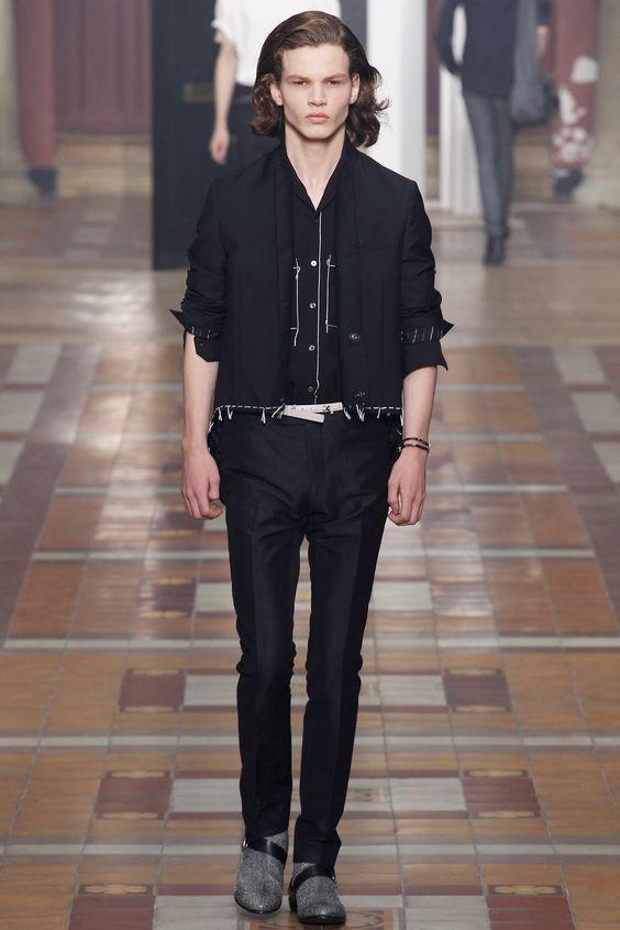 Lanvin Spring 2015 Menswear Fashion Show