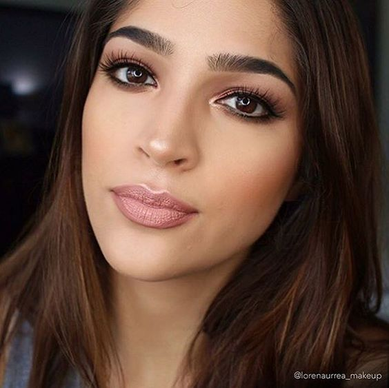 Looking flawless @lorenaurrea_makeup! Used: Everyday Smoky Palette, Precision Liquid Eyeliner, Contour Palette #playbeautifully #elfcosmetics
