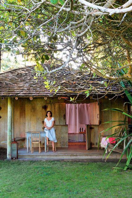 BLOG DE DECORAÇÃO-PUXE A CADEIRA E SENTE! : Charmosa Cabana de praia em Caravaí, na Bahia