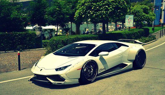 Huracan wide body rendering Lamborghini