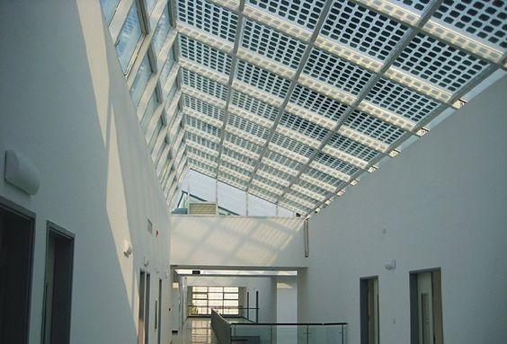 Zonnepaneel glas gebruiken voor overkapping van for Bieke vanhoutte interieur