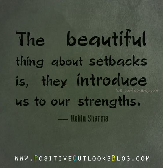 Image result for accept setbacks