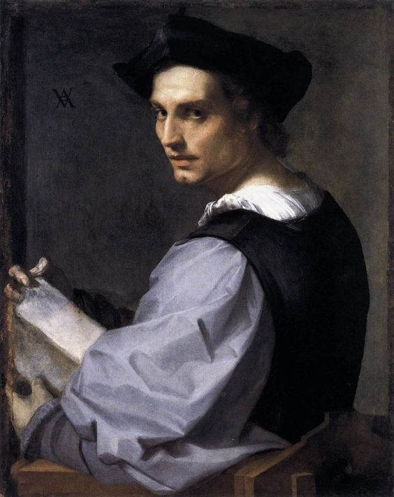 ANDREA DEL SARTO  Portrait of a Young Man  c. 1517