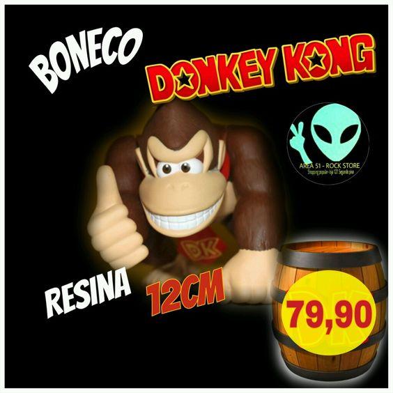 Veja nosso novo produto Boneco Donkey Kong! Se gostar, pode nos ajudar pinando-o em algum de seus painéis :)