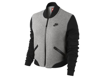 Nike Wool Tech Fleece Bomber Women's Jacket yup, it's happening ...