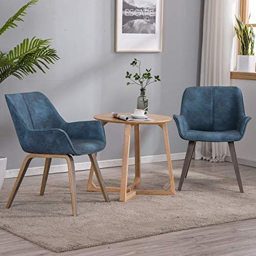 Shop For Yeefy Modern Living Room Chairs Arms Blue Accent Chairs Set 2 Blue Online In 2020 Living Room Chairs Living Room Chairs Modern Blue Furniture Living Room