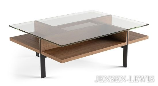 Bdi Terrace Rectangular Coffee Table Coffee Table Rectangular