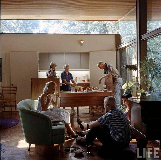 beattie residence 1958: