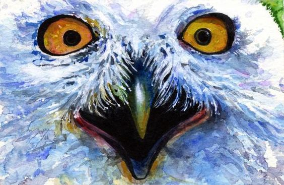 Eyes of Owls No. 15 Painting