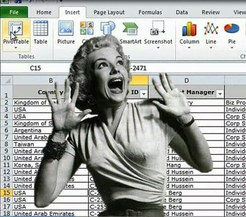 Image result for excel nightmare photo